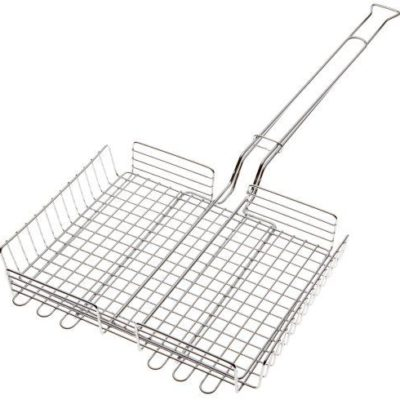Rome Industries 66 Basket Broiler - Grillkorf Chrome